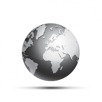 Earth globe design