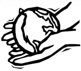 Earth in gentle hands