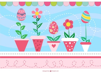 Easter card free graphic