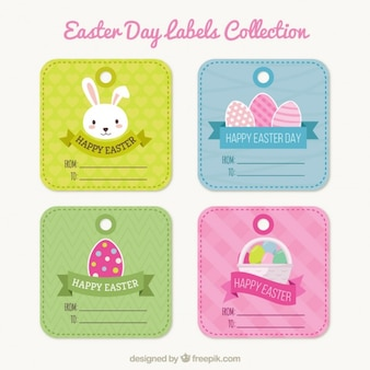 Easter Day labels collection