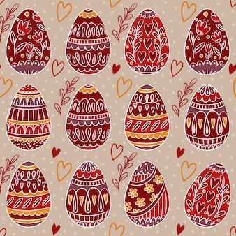 Easter pattern design