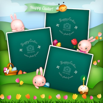 Easter photo frames collection
