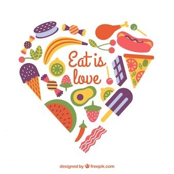 Eat is love