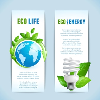 Eco banners collection