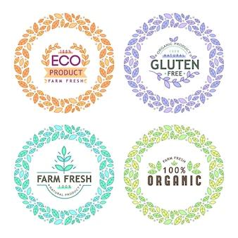 Eco logo collection