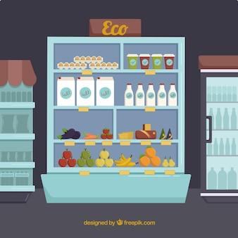 Eco supermarket