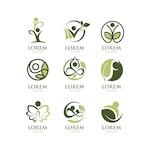 Ecological logo collection