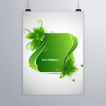 Ecological theme poster