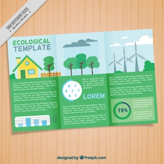 Ecological trifold