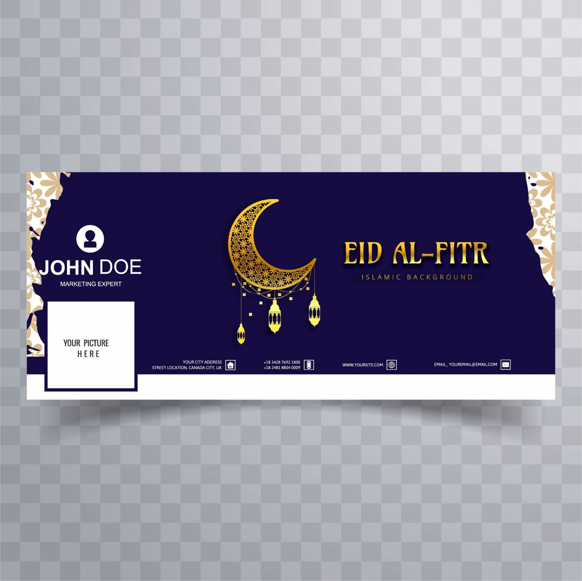 Eid Al Fitrのfacebook cover