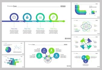 Eight Banking Slide Templates Set