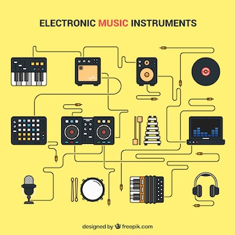 Electronic music instruments