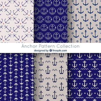 Elegant anchor pattern collection