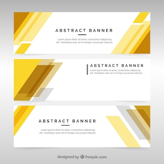 Elegant and modern business banners