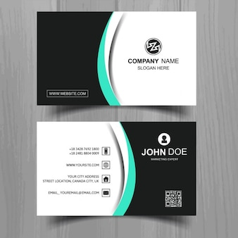 Elegant and modern business card