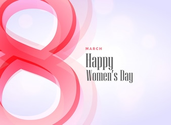 Elegant background of woman's day