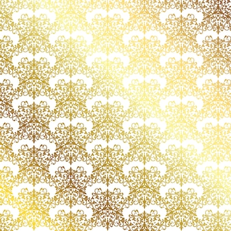Elegant background with a decorative gold pattern