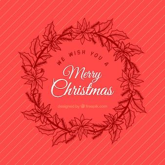 Elegant background with christmas decoration