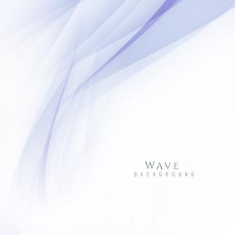 Elegant background with wave design