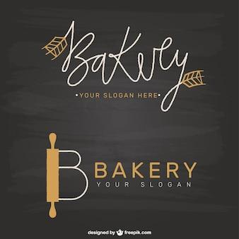 Elegant bakery logotypes
