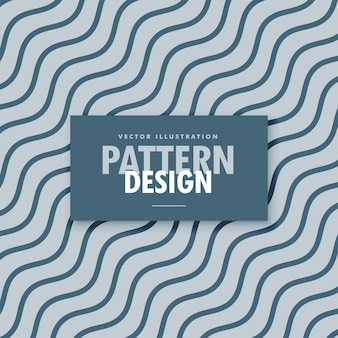 Elegant blue and gray background with diagonal wavy lines