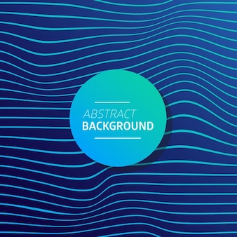 Elegant blue background with wavy lines