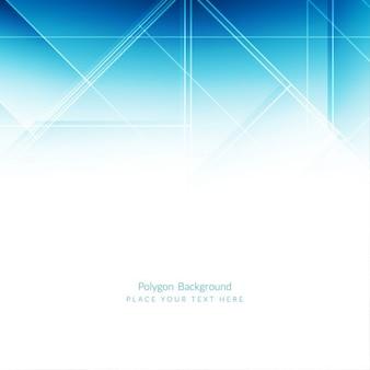 Elegant blue polygonal background design