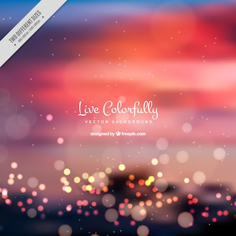 Elegant blurred background with bokeh effect
