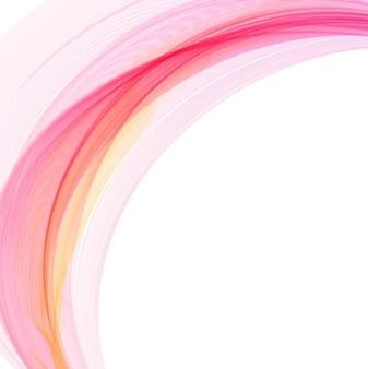 Elegant colorful wave background