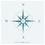 Elegant compass