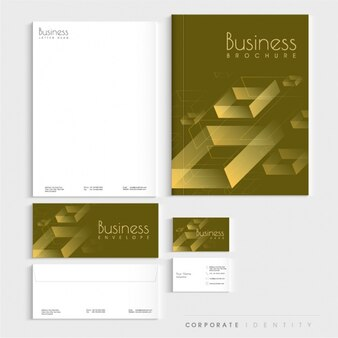 Elegant corporate stationery