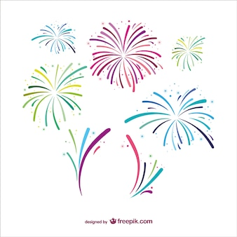 Elegant fireworks
