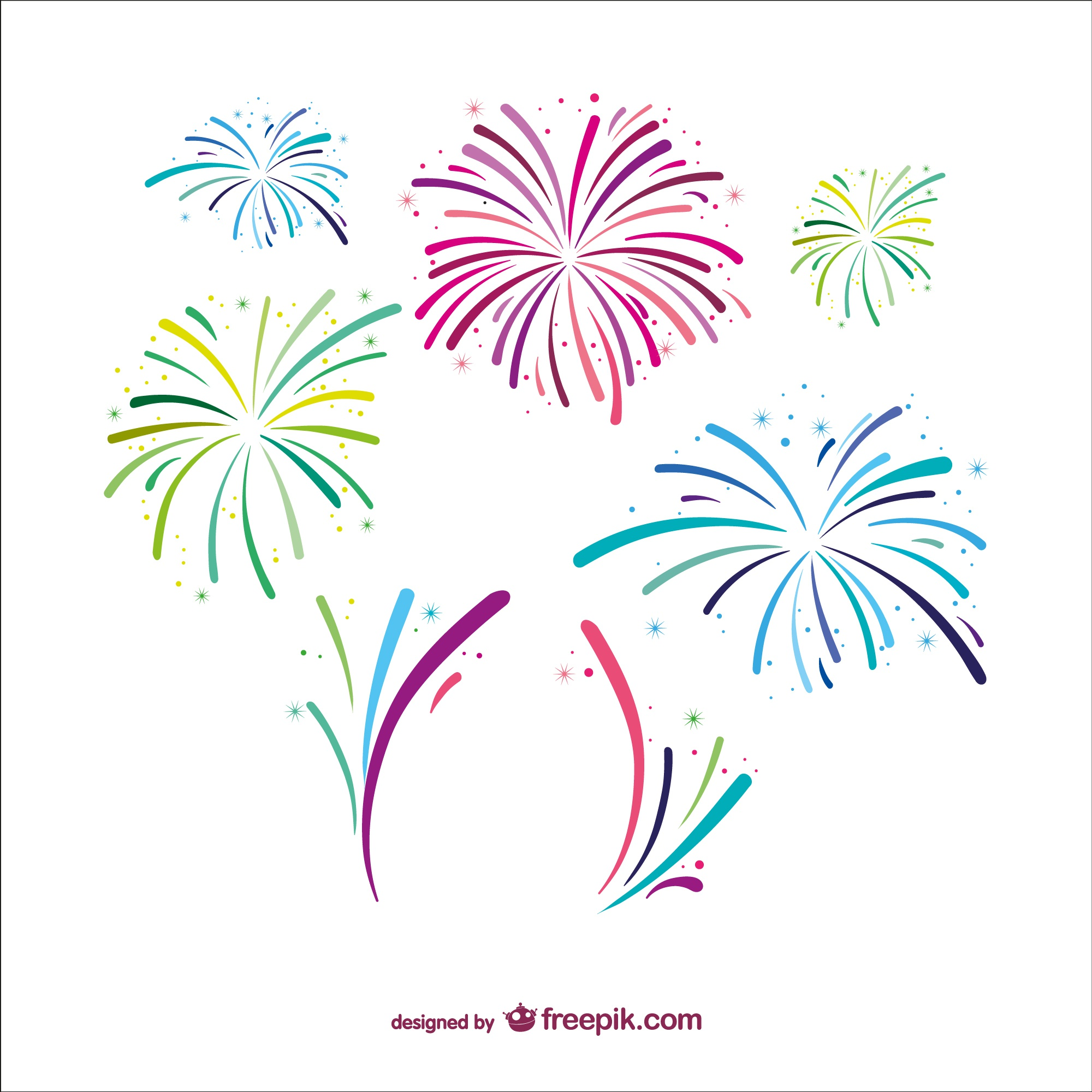 fireworks vectors  photos and psd files free download Free Fireworks SVG Fireworks Clip Art Free Download