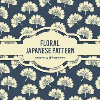 Elegant floral japanese pattern