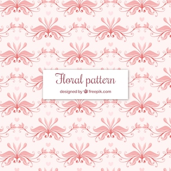 Elegant floral pattern background