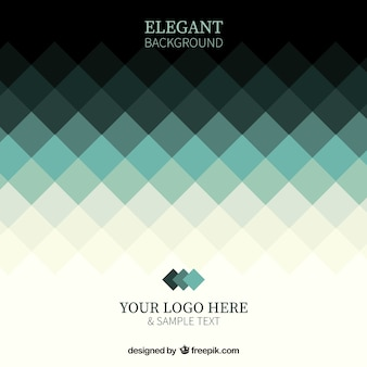 Elegant geometric background