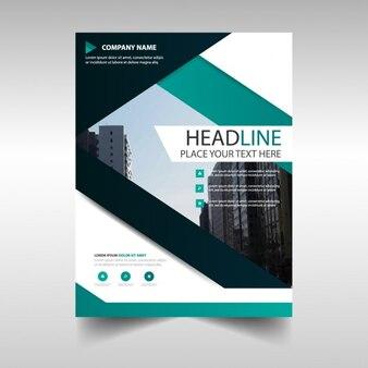Elegant geometric brochure