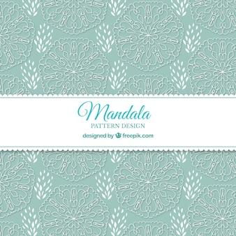 Elegant mandala pattern background