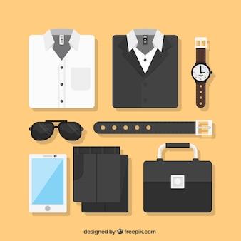 Elegant men's clothing