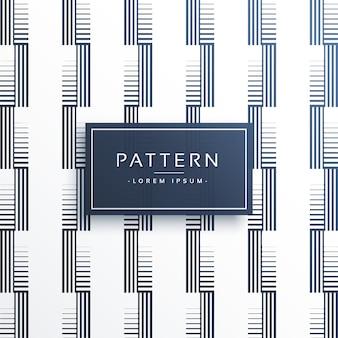 Elegant minimal lines pattern