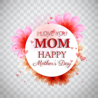 Elegant modern mothers day background