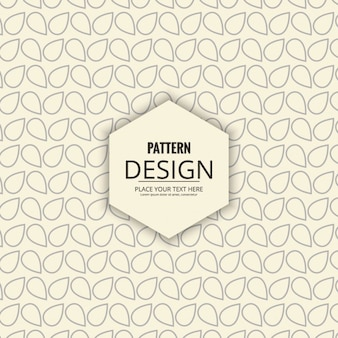 Elegant pattern abstract shapes
