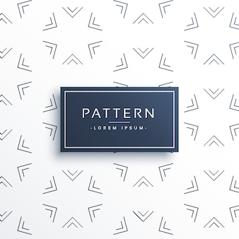 Elegant pattern with geometric shapes