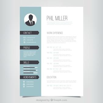 elegant resume template