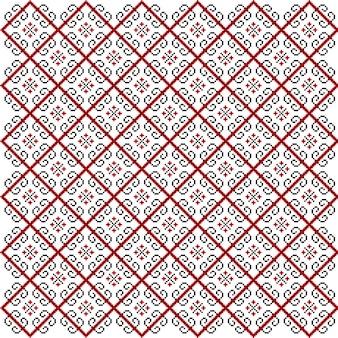Elegant seamless ethnic pattern