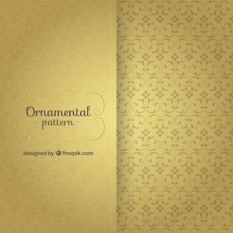 Elegant vintage ornamental pattern