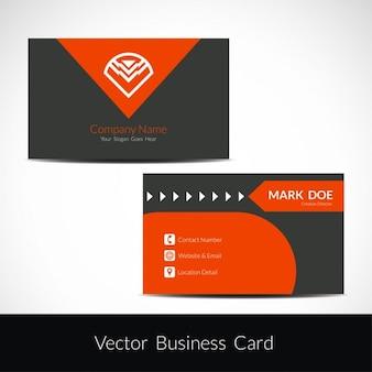 Elegant visiting card