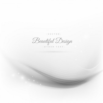 Elegant wave background with lines