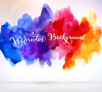 Element backdrop bright background watercolor