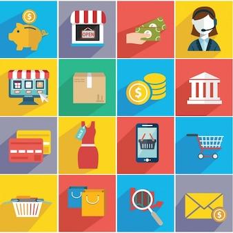 Elements about e commerce
